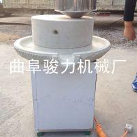 自动石磨米浆豆浆机 多用途水磨 骏力牌 花生酱肠粉石磨机 畅销