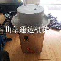 大卖50型米浆石磨机 香油石磨价格 通达 电动肠粉机械图片