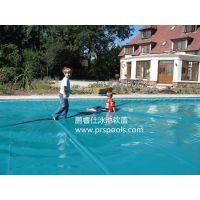 电动泳池覆盖系统 推荐 鹏睿仕泳池 安全 保温 防尘 防护工程 优质