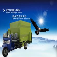 低噪音可以定做撒料车 润丰 自动连草料撒到地上抛料车