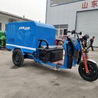 厂家直销小型纯电动三轮高压清洗车 定做多功能高压清洗洒水车