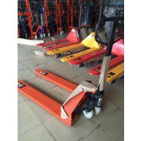 新圩工厂用手动叉车载重5吨 惠东手拉搬运车厂家供应鸿福叉车