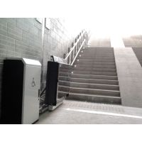 鞍山市 千山区导轨自动充电斜挂式升降平 轮椅智能电梯 启运别墅台阶式升降机