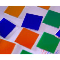 GIAI有色镜 滤光片 2014色片 玻璃镜片 光学镜片 滤光片