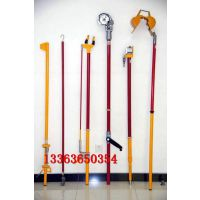 带电作业线夹测距杆 10kv带电作业测距杆 玻璃钢侧杆汇能
