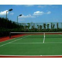 运之家专业硅PU网球场施工
