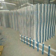郑州围墙栏杆 太原铁艺护栏 草坪护栏锌钢配件