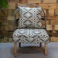 供应单人沙发麦德嘉MDJ-ZTY14咖啡厅主题馆实木沙发胡桃里家具复古沙发