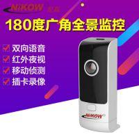 智能无线网络摄像机720P红外夜视高清保姆监控器婴儿插卡监控