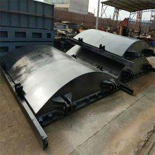 宇东水利机械定制管道口80*80手动钢板闸门保证质量 物流送货上门
