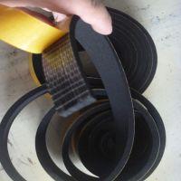 黑色单面带背胶减震5MM厚三元乙丙密封条