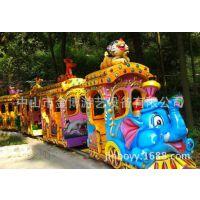 有轨道小火车游乐设备 大象小火车游乐设施 儿童游乐设施小火车