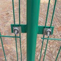 大量果园围网高速双边丝护栏网养殖框架护栏网圈地护栏网