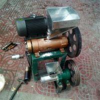 晋城弯管面粉一体机商用 15匹电启动柴油机带 品质可靠3号月牙筒