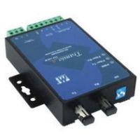 TCF-142-S-SC MOXA串口转单模光纤 转换器