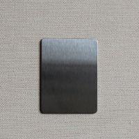 佛山高比不锈钢雪花砂镀黑钛 专业不锈钢表面处理价格