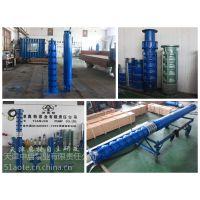 恒压供水使用温泉深井泵_高扬程变频调节热水潜水泵QJR型号