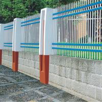 常规锌钢护栏价格 安首锌钢别墅围栏厂 百色工厂院校pvc护栏