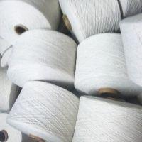 厂家直销环保有机棉纱GOTS认证21支纯棉气流纺有机棉纱线进口原棉
