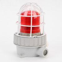 免维护防爆led警示灯 LED防爆声光报警器90分贝声光一体闪光灯