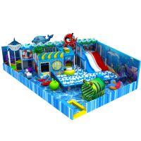 温州厂家直销儿童乐园淘气堡设备 百万海洋球池木质大滑梯游乐场设备 综合性亲子大乐园