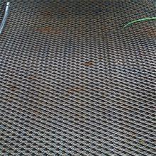 大型钢板网 喷塑钢板网 矿用菱型网价格