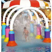 腾龙直销儿童水上乐园设备水帘门 戏水小品
