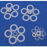 【德氟】四氟垫片 圆形垫片 精加工 全新料 来图加工 广东厂家