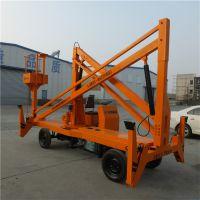 广州工厂定制曲臂式高空作业平台 车载式液压升降车