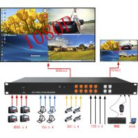 深圳市快视电子HDMI、USB同步切换,四信号同屏幕、画中画画外画、开窗、叠加漫游等,KVM功能高清
