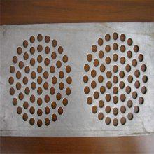 圆孔钢板网厂家 滤芯圆孔网板 青岛冲孔网