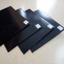2.0mm聚乙烯防水板 光面板材 黑色防水板价格 德州宏瑞土工材料厂价直销