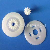 厂家加工订制塑胶斜齿蜗杆