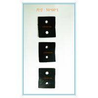 厂价直销PVC幕墙铝合金挂件防滑垫片石材垫片垫块量大议价
