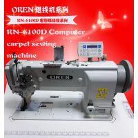 粗线皮革加工设备 工业缝纫机 奥玲RN-6610D 木板厚料专用缝机 高速气动电脑机