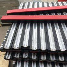 天德立抗震耐磨缓冲条 1.2米阻燃橡胶 铝合金座缓冲条