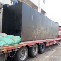建筑工地员工生活废水怎么处理 晨兴打造碳钢生活污水处理设备
