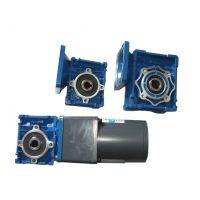 RV90蜗轮蜗杆减速机配伺服电机/提供接口尺寸