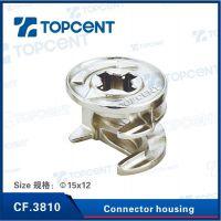 【CF.3810】 三合一板材连接件 衣柜橱柜板式家具连接紧固件
