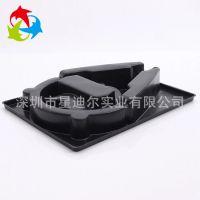 源头生产厂家供应数码吸塑包装 定做黑色PVC头戴式耳机包装盒