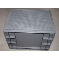 苏州滏瑞厂家直销周转箱EU4328外400-300-280可堆式周转箱