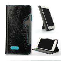 东莞苹果手机皮套厂家iphone6带支撑真皮手机保护壳OEM生产订做