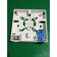 普天86型光纤桌面盒 86型光纤面板