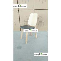 厂家直销北京大学食堂餐桌椅 学校实木餐桌椅定做批发 韩尔实木简约品牌