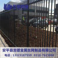 重庆锌钢护栏 市政铁艺围栏 学校护栏