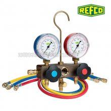 瑞士REFCO威科充氟压力表BM2-6-DS-R22/R134A/R404