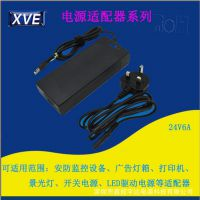 XVE 制作24V6ALED驱动电源广告灯箱景光灯适配器 免费拿样