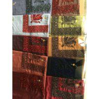阿拉伯毛晴绣花头巾 Arab wool embroidery scarf 沙特绣花头巾