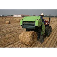 四轮拖拉机小麦秸杆 高效耐用玉米秸秆棉干打捆机