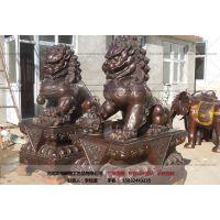 故宫狮雕塑_铜狮子铸造_厂家文禄